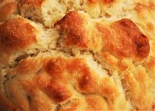 BRÖD: Yttersida av hemlagat bröd Royaltyfria Bilder