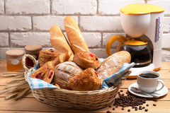 brödbakelse Royaltyfria Bilder
