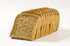 brödbrownsmörgås royaltyfri foto