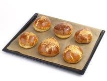 brödbullar Royaltyfria Bilder