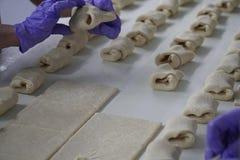 Bröddanandeprocess Royaltyfri Foto