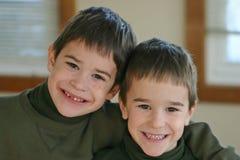 bröder royaltyfri fotografi