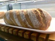 Brödpåfyllning sourdough royaltyfria bilder