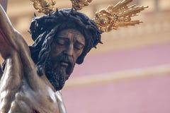 Brödraskap av bra beställning, påsk i Seville Arkivfoto