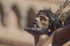 Brödraskap eller broderskap av den heliga veckan i Seville, Spanien arkivbilder