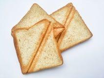 brödrostat bröd Arkivbilder