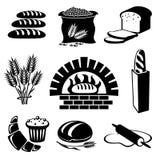 brödset royaltyfri illustrationer