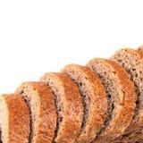 Brödskivor med stora biten royaltyfri bild