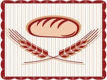 brödteckenvete vektor illustrationer