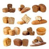 brödvariation royaltyfri foto