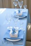 Bröllop Bonbonniere aktuell ask Bröllopgåva för gäst Arkivbilder