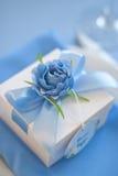 Bröllop Bonbonniere aktuell ask Bröllopgåva för gäst Arkivfoto