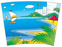 bröllop för 006 lopp stock illustrationer