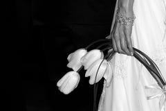 bröllop för 10 bukett Arkivbild