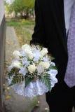 bröllop för 2 bukett Arkivbilder
