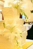 bröllop för 2 cake Arkivbilder
