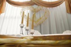 bröllop för 2 mottagande Royaltyfri Foto