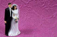 bröllop för 2 prydnad arkivfoto