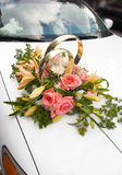bröllop för 3 bil Fotografering för Bildbyråer