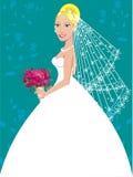 bröllop för 3 kappa vektor illustrationer