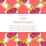 bröllop för abstraktionkortillustration Royaltyfri Foto