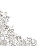 bröllop för abstraktionkortillustration Royaltyfria Bilder
