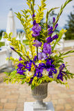 bröllop för band för inbjudan för blomma för elegans för bakgrundsgarneringdetalj Arkivbild