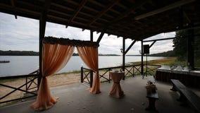 bröllop för band för inbjudan för blomma för elegans för bakgrundsgarneringdetalj _ bur Gifta sig aktivering på stranden Gifta si Royaltyfri Bild