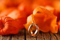 bröllop för band för inbjudan för blomma för elegans för bakgrundsgarneringdetalj Röda sidor på den red ut tabellen med att gifta Royaltyfria Foton