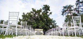 bröllop för brudceremoniblomma Royaltyfri Fotografi