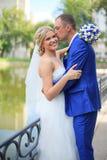 bröllop för brudgum för brudceremonikyrka Royaltyfri Fotografi