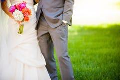 bröllop för brudgum för brudceremonikyrka royaltyfria bilder