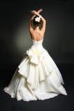 bröllop för klänningfragmentbeställning Royaltyfri Foto