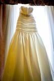 bröllop för klänningfragmentbeställning Royaltyfria Foton