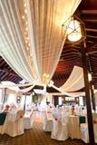 bröllop för mottagandelokal Royaltyfri Bild