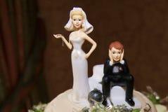 bröllop för oljemålning Arkivfoto