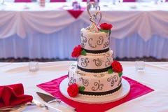 bröllop för 8 pie Arkivbilder