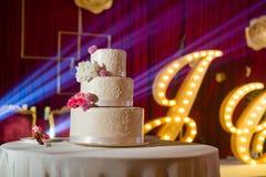 bröllop för 8 pie Arkivbild