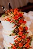 bröllop för 8 pie Royaltyfri Foto