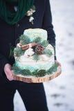 bröllop för 8 pie Fotografering för Bildbyråer