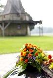 bröllop för pink för blomma för bakgrundsgarneringelegans romantiskt Arkivfoto