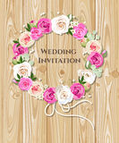 bröllop för romantiskt symbol för inbjudan för bakgrundseleganshjärtor varmt Arkivfoto