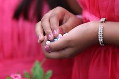 bröllop för stil för brytningfärgmottagande violett Arkivbild