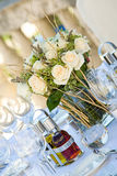 bröllop för tabell setting3 Royaltyfri Foto