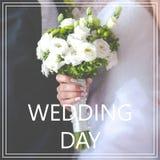 bröllop för tappning för klädpardag lyckligt Royaltyfri Bild
