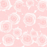 bröllop för valentin för ro för bakgrundspetal rose Arkivfoto