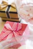 Bröllop Giftbox Royaltyfri Foto