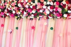 Bröllop scene01 Arkivfoto