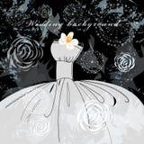 Bröllopbakgrund Arkivbilder
