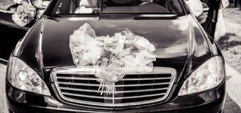 Bröllopbil arkivfoton